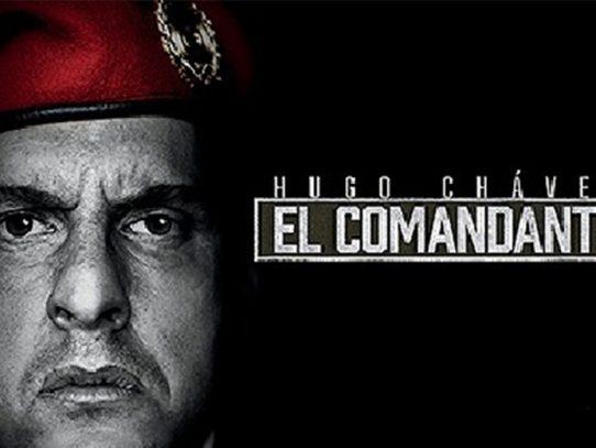 """Polémico estreno de serie de TV sobre Hugo Chávez """"El comandante"""""""