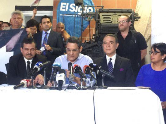 """""""El único que nos pone licencia es el pueblo panameño"""", Eduardo Quirós"""