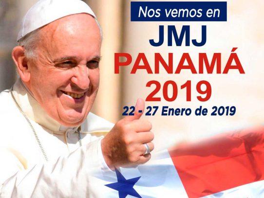 Enero de 2019 será la cita de la Jornada Mundial de la Juventud en Panamá