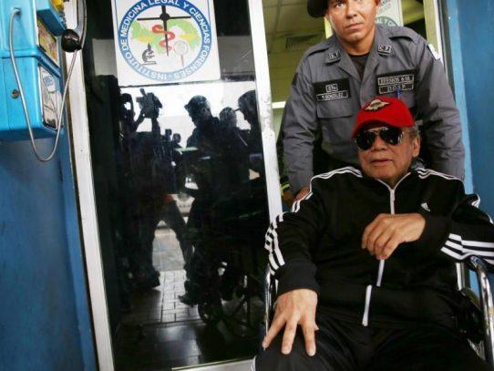 Estado de salud de Noriega será revelado el lunes