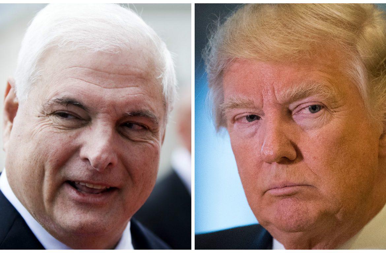 Martinelli muestra invitación a la toma de posesión de Trump