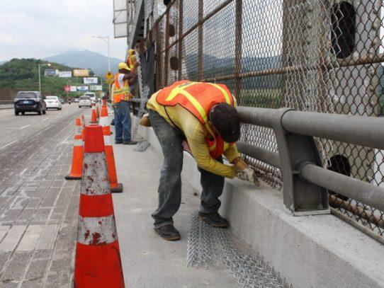 Cierre parcial de puente de las Américas por rehabilitación