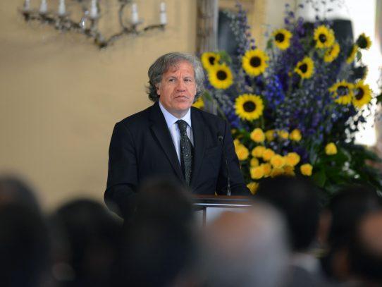 Secretario de la OEA se solidariza con México por políticas de Trump