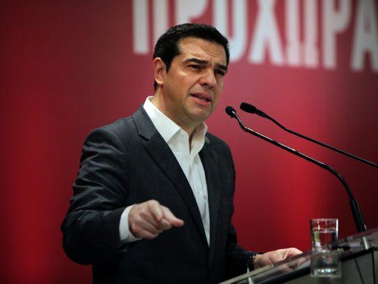 """Primer ministro griego exigió al FMI dejar de """"jugar con fuego"""" sobre la crisis griega"""