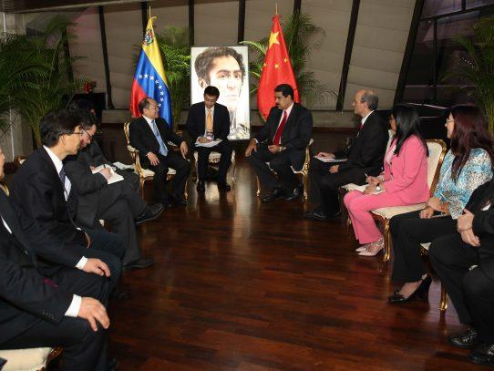 Gobierno de China financiará proyectos petroleros en Venezuela por el orden $5 millones