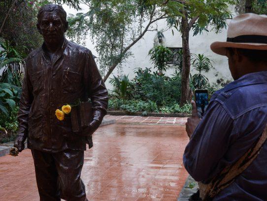 Gobierno de Colombia rinde homenaje a Gabriel García Márquez en Cuba