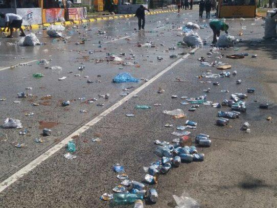 Autoridad de Aseo recoge 180 toneladas de basura durante tres días de Carnaval