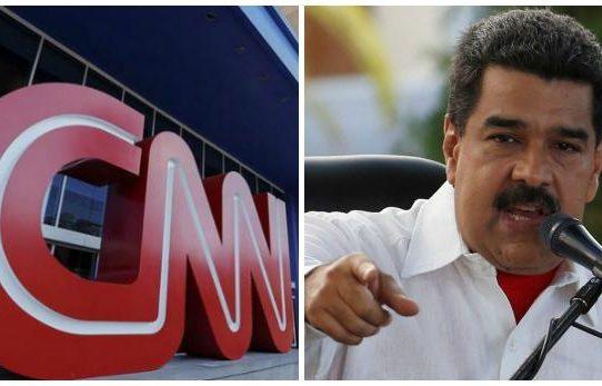 """Venezuela inicia proceso contra CNN por """"propaganda de guerra"""""""