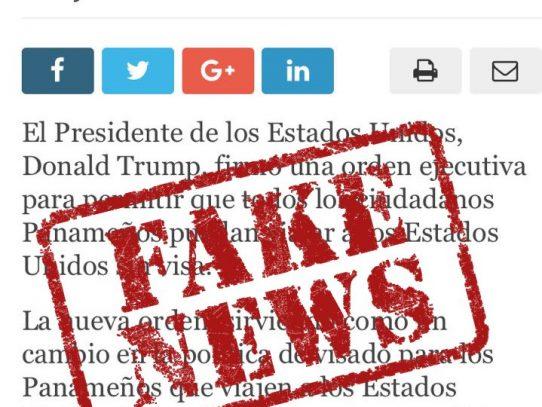 Embajada de Estados Unidos desmiente noticia sobre visa para panameños