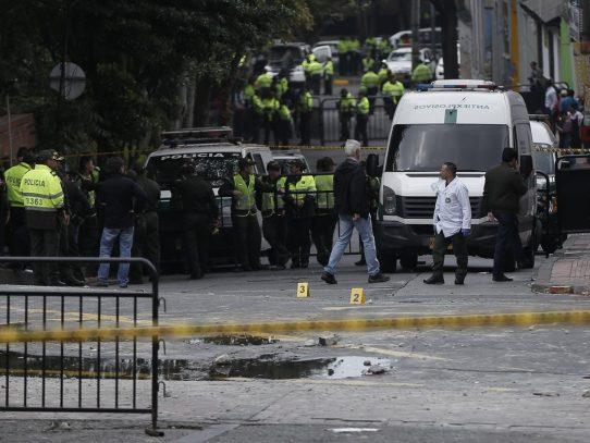 Explosión cerca de la plaza de toros de Bogotá deja un muerto y unos 30 heridos