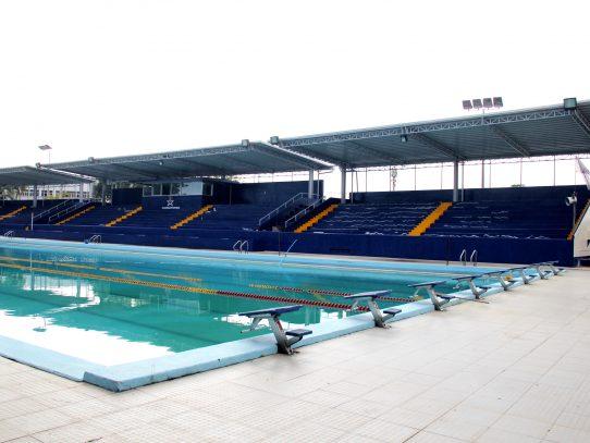 Trabajos de rehabilitación de piscina Eileen Coparropa avanzan a buen paso