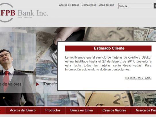 Superintendencia de Bancos toma control de FPB Bank por relación al caso Lava Jato