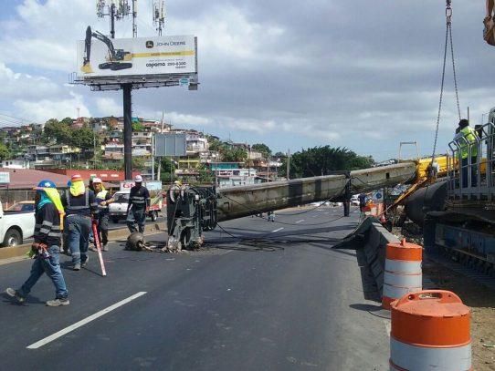Accidente en Línea 2 del Metro de Panamá, sin hechos lamentables