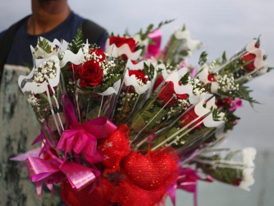 Cupido se tomó la ciudad de Panamá el 14 de febrero