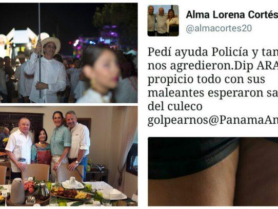 Política empieza a filtrarse en Carnaval panameño