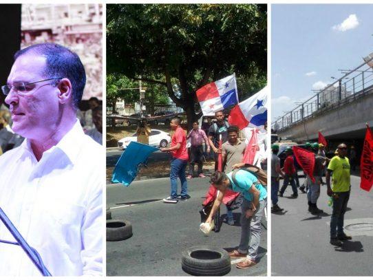 Capital panameña entre indagatorias, protestas y pronunciamientos, segundo día de la tormenta Odebrecht