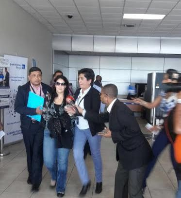 Evelyn Vargas rinde indagatoria ante la Fiscalía por caso Odebrecht