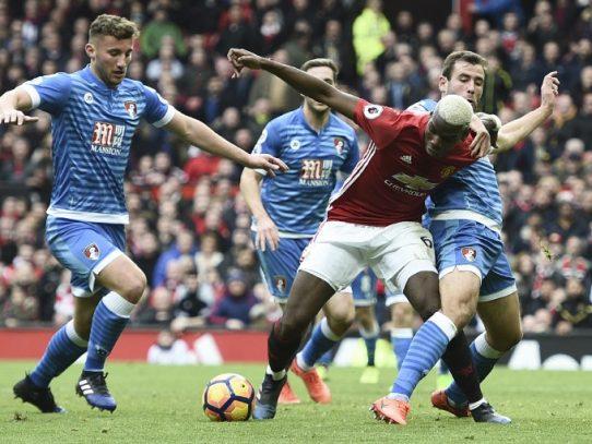 Mánchester United empata ante el Bournemouth