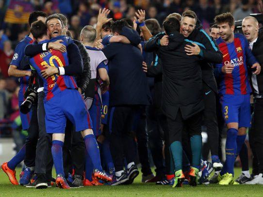 Barcelona amenaza con liderar  la 'Champions'