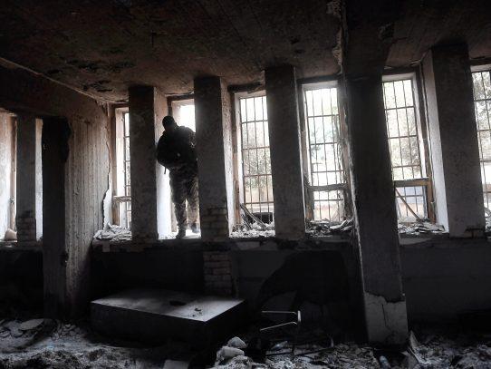 Museo de Mosul, en ruinas  tras ataques  de fuerzas yihadistas