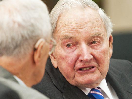 Banquero David Rockefeller muere a los 101 años