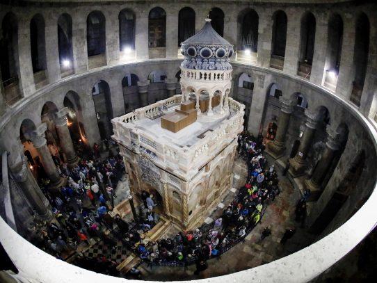 Tumba de Jesucristo es reinagurada en Jerusalén