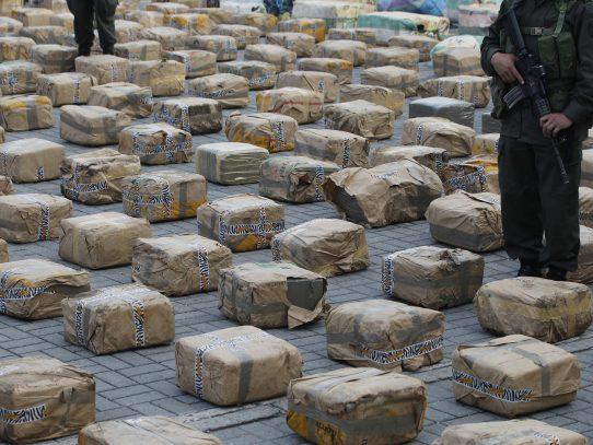 Encuentran cocaína dentro de contenedor en puerto de Cristobal