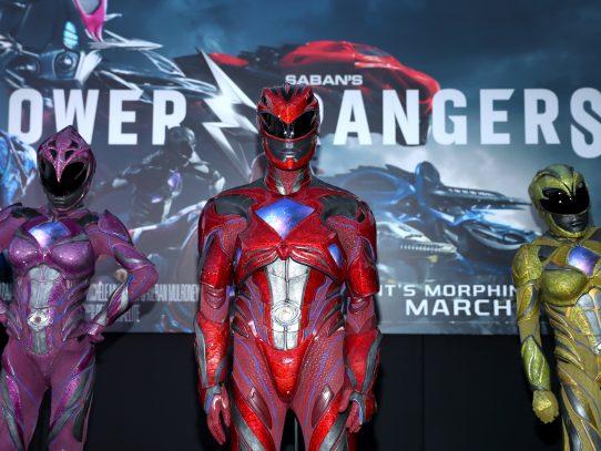 Power Rangers estrena película en cines