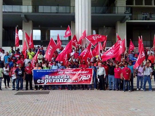 FAD convoca protesta contra la corrupción éste martes