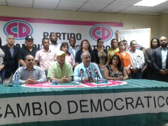 Cambio Democrático convoca marcha contra la inseguridad en el país