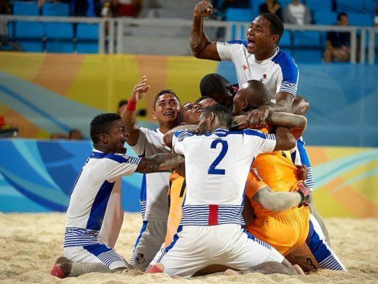 Selección de Fútbol Playa de Panamá debutará contra Portugal en el mundial