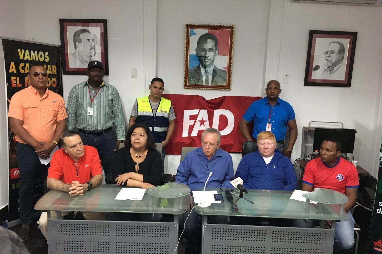 Primarias presidenciales del FAD se realizarán el 28 de octubre