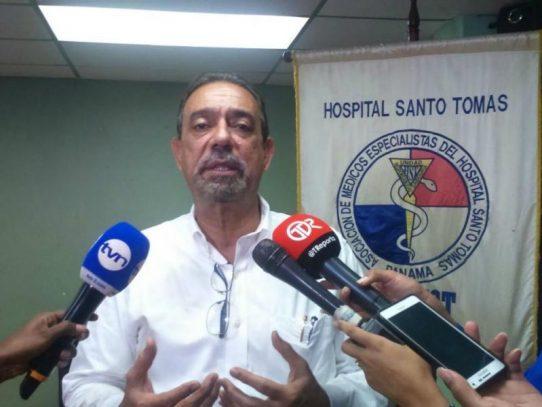 Médicos del Hospital Santo Tomás anuncian paro de labores a partir del lunes
