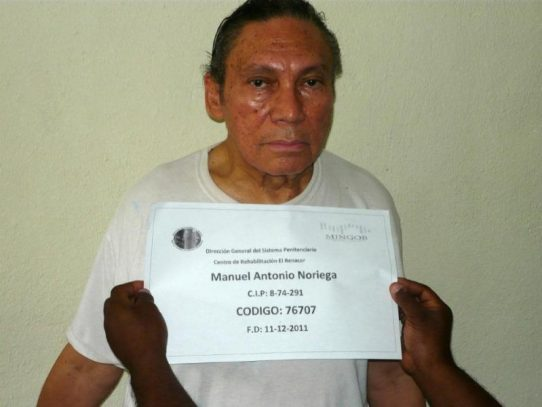 Audiencia de arresto domiciliario para Noriega es pospuesta para mayo