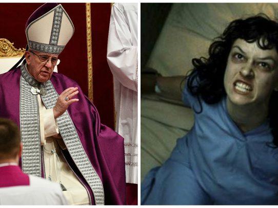 Papa recomienda el exorcismo frente a grandes inquietudes espirituales