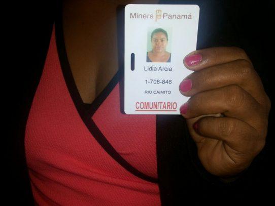 """Minera Panamá establece """"visa"""" a moradores de Coclé del Norte"""