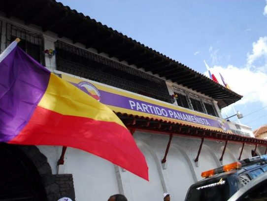 Convocan a panameñistas a postularse para conformación de Comité Nacional de Elecciones
