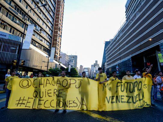 Venezuela se rebela y vuelve a pedir nuevas elecciones