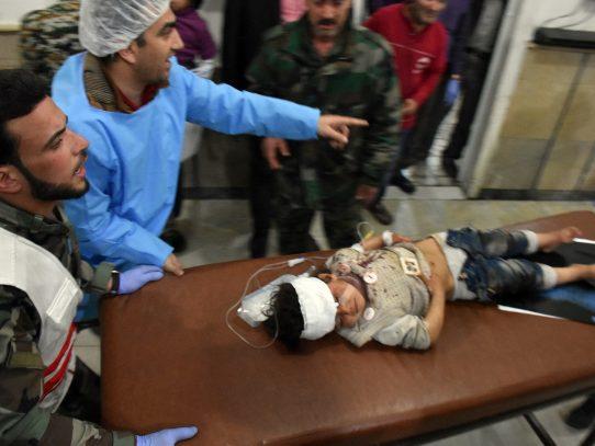 Autoridades reportan 68 niños entre los muertos del atentado en Siria