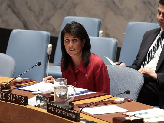 Estados Unidos amenaza con nueva intervención militar en Siria