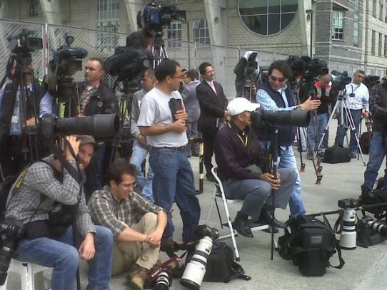 14 periodistas detenidos y 106 agredidos en protestas Venezolanas