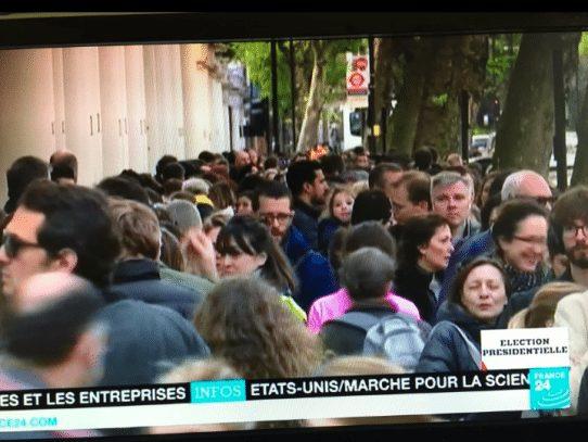 Alta participación en elecciones francesas
