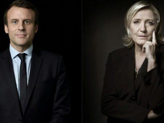 Macron y Le Pen disputan la presidencia de Francia