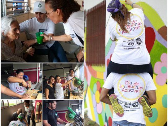 Panamá se une por tercera vez al Día de las Buenas Acciones