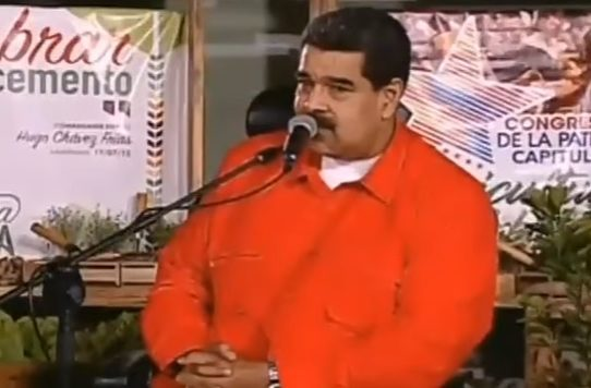 "Presidente Nicolás Maduro: ""Me reconocen como un mariposón"""