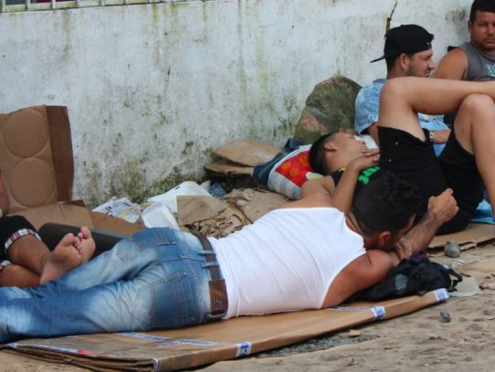 Cubanos irán a albergue estatal en Chiriquí