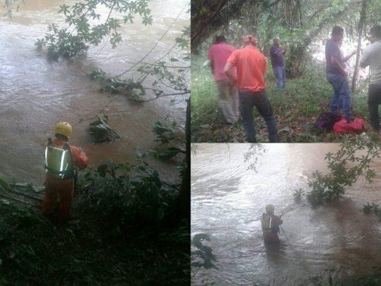 Rescatan a un hombre de 58 años que cayó en una quebrada de Bocas del Toro