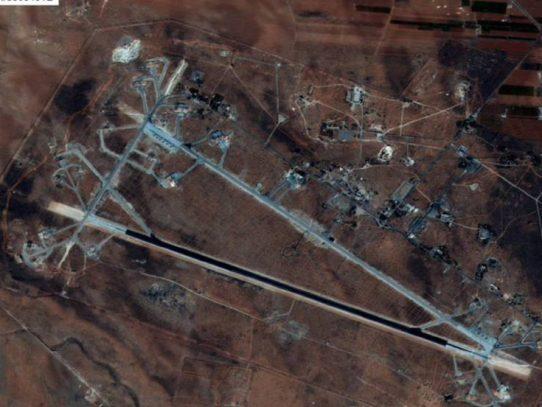 Buque ruso navega hacia los bombarderos de EEUU en el Mediterráneo
