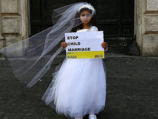Alemania prohíbe el matrimonio de menores