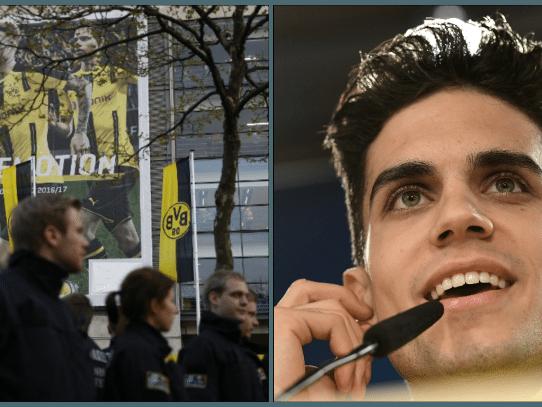 Un herido en una explosión cerca del autobús del Borussia Dortmund